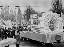Празднование 62-ой годовщины Великой Октябрьской социалистической революции. г. Одесса. 7 ноября 1979 г. И. Павленко (13287)