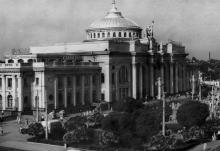 Железнодорожный вокзал. Одесса, 1963 (4522)
