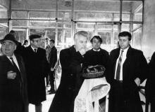 Посещение Л.М. Кравчуком з-да «Стройгидравлика». г. Одесса 1991 г. В. Теняков (12285_2)