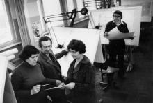 Конструкторская группа по новой технике СКТБ «Холодмаш». Одесса, февраль 1982 г. (7983)