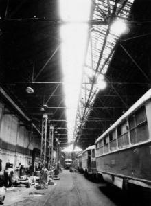 Ремонтный завод горэлектротранспорта. Трамвайный участок. г. Одесса 1992 г. В. Теняков (12495)