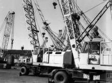 На испытательной площадке Одесского ПО им. Январского восстания. г. Одесса, июль 1983 г. (8127)