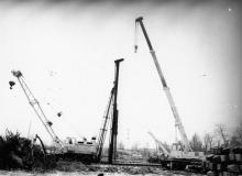 Строительство нового цеха ПО им. Январского восстания. г Одесса, октябрь 1984 г. (8575)