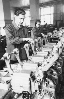 Завод «Кинап». Цех. 1954 г.
