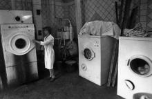 Пункт «Химчистки» Одесского завода «Стройгидравлика». г. Одесса, июль 1981 г. (7402)