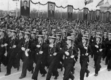 Празднование 1 мая 1958 г. Одесса. 1.5.58 г. Одесса, А. Фатеев (1199)