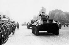 Военный парад на площади им. Октябрьской революции 7 ноября 1984 г. г. Одесса 7 ноября 1984 г. (8276)