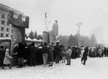 Празднование Нового года на Куликовом поле. г. Одесса 1991 г. О. Владимирский (12229)