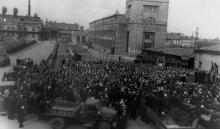 Траурный митинг в день смерти И.В. Сталина на заводе ЗОР. Одесса. 5 марта 1953 г. Феохари (1747)