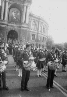 Открытие фестиваля «Белая акация». г. Одесса, июнь 1983 г. (8023)