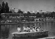 Дендропарк им. В.И. Ленина. г. Одесса, 1980 г. (6057)