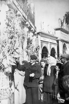 В парке «Победы» открылась областная выставка народного творчества. Одесса. 1958 г. (4684)