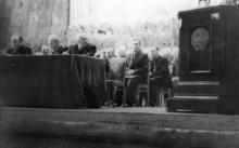 Вечер, посвященный 100-летию завода ЗОР в Оперном театре. Одесса. 1954 г. Феохари (1768)
