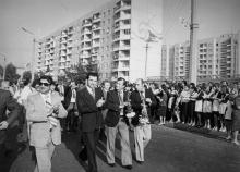 Праздник на улице Варненской. г. Одесса, 1979 г. (5991)
