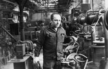 И. Пригода – волочильщик сталепрокатного ПО им. Дзержинского. г. Одесса, апрель 1981 г. (7266)