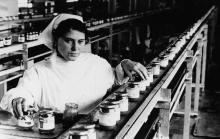Н. Терещенко – контролер участка Одесского консервного завода им. Ленина (7034)
