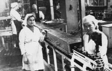 На Одесском консервном заводе им. В.И. Ленина. Одесса, март 1979 г. (6510)