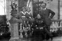 В особняке И.Б. Галюзмана на ул. Полтавской победы (Канатной), 112