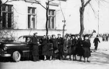 В переулке Чайковского. Одесса. 25 марта 1956 г.