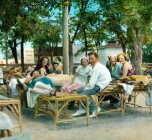 На Ланжероне. Одесса. Фотограф Branson DeCou, 1931 г.