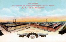 Вид заводов Акц. Общества для произв. земледельческих орудий и машин «И.И. Ген» в Одессе