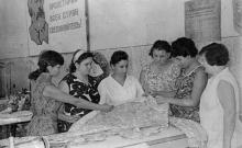 Производственники 4-го цеха ф-ки им. Воровского. Одесса, 1967 г. Тартаковский (1544)