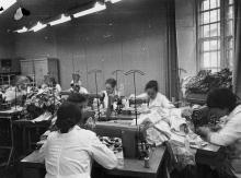 Старое здание цеха №17 швейного объединения им. В.В. Воровского. г. Одесса, 1975 г. (5507)