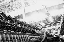 Т. Мастюк – ткачиха фабрики технических тканей. г. Одесса июнь 1981 г. (6562)