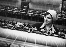 М. Ренавская – передовая работница суконной фабрики. г. Одесса, 1980 г. (6045)