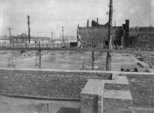 Строительство инструментального цеха ЗОР. Одесса, 1946 г. Феохари (1705)