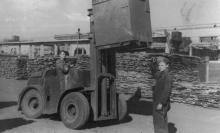 Оборудование транспортного цеха ЗОР. Одесса. 1952 г. Феохари (1724)