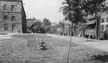 Территория завода ЗОР. 1952 г.