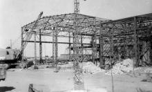 Строительство новых цехов на заводе ЗОР (УЛЦ и метизного цеха). Одесса, 1954 г., Фоехари (1760)