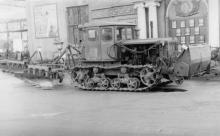 Новая продукция ЗОР – четырехкорпусный плуг. г. Одесса, 1962 г. Негребецкий (1844)