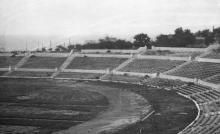 Стадион в парке Шевченко (1941 — 1944)