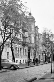 Дом №6 по ул. Лизогуба, Одесса. Фотограф Дниир Павлович Климовский, 1970-е годы