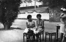 В парке им. Шевченко. Одесса. Июнь 1964 г.