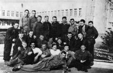 В санатории имени Ф.Э. Дзержинского. Одесса. 1941 г.