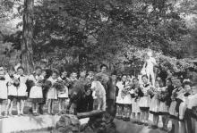 В парке им. Шевченко. Одесса. Конец 1950-х годов