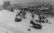 Заводской пляж. ЗОР. Одесса, 1953 г. Феохари (1754) (Пляж располагался перед самим заводом на Пересыпи)
