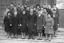 Ул. Московская, 72. Перед заводоуправлением ЗОР. Одесса. 1961 г.