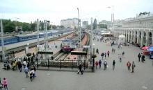 Железнодорожный вокзал. Одесса. Фотограф Вячеслав Теняков. 20 августа 2015 г.