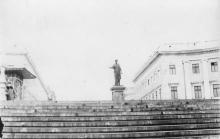 Потемкинская лестница. Одесса. Середина 1960-х годов