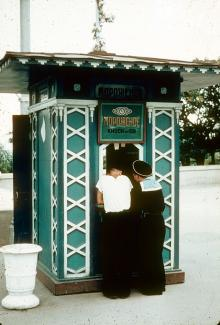 На Приморском бульваре. Одесса. 1965 г.