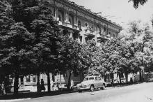 Новые жилые дома на ул. К. Маркса. Одесса, 1958 г. Шоломович (3514)