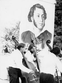 Открытие пушкинских дней в Одессе. Июнь 1983 г. (8483)