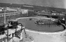 Очистные сооружения Одесского припортового завода. Одесская область, май 1987 г. (7361)