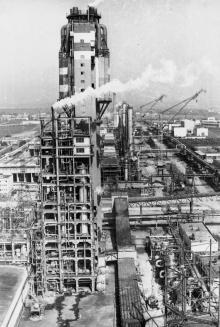 Вторая очередь по производству карбамида на припортовом заводе. г. Одесса апрель 1986 г. (9175)