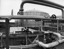 Изотермические хранилища припортового завода. г. Одесса, 1979 г. И. Павленко (13290)