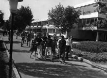 Зарубежные гости в республиканском лагере «Молодая гвардия». г. Одесса, июнь 1964 г. Сайко (3723)